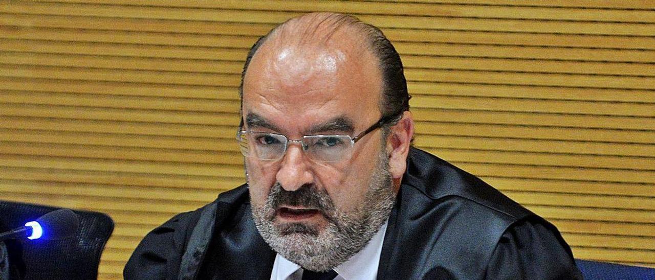 Carlos Trujillo, en un juicio por los incendios forestales de Gran Canaria.