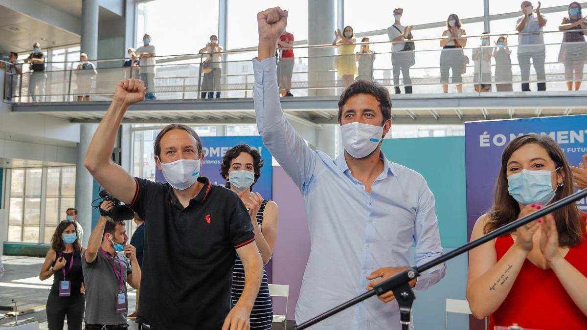 Pablo Iglesias y Antón Gómez-Reino participarán en un mitin en A Coruña