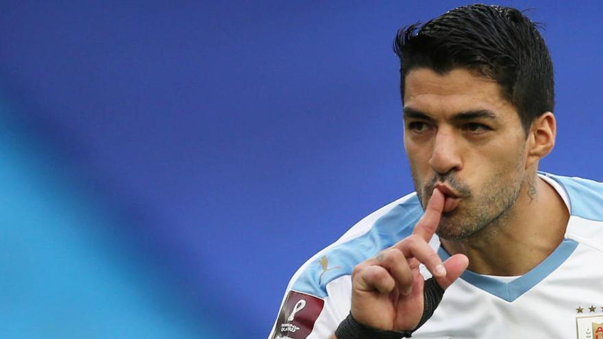 Suárez da positivo en Covid-19 y no jugará contra el Barça