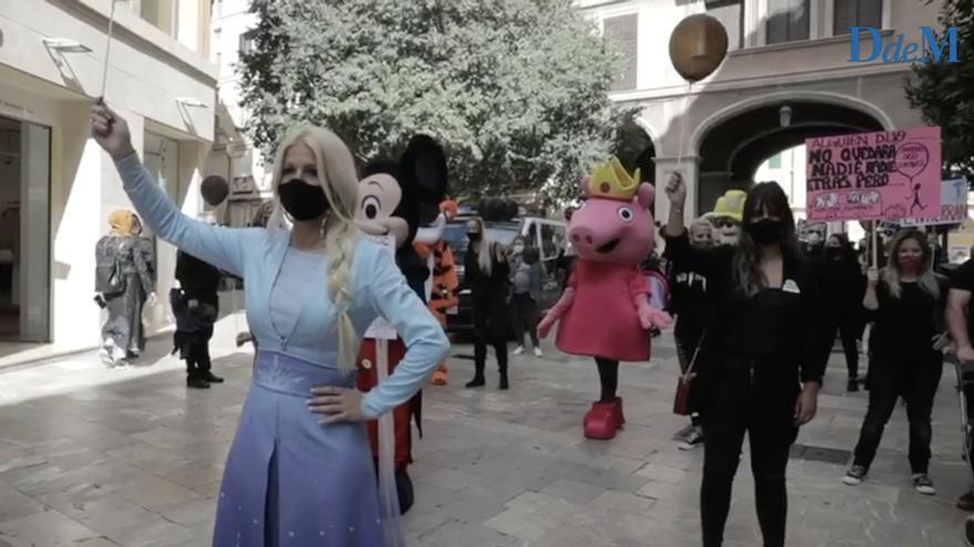 Protesta en Palma por «un mundo infantil ideal»