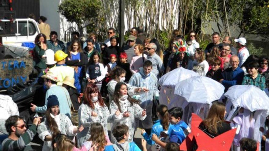 Coreografía ganadora del Carnaval de Formentera