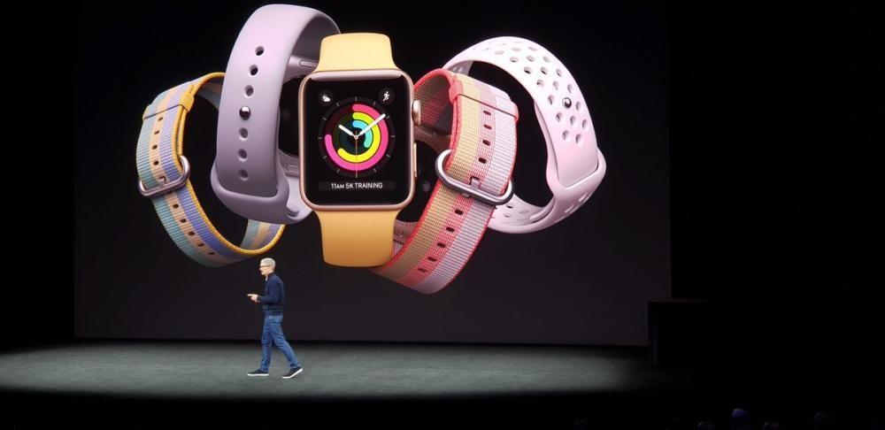El nuevo Apple Watch.