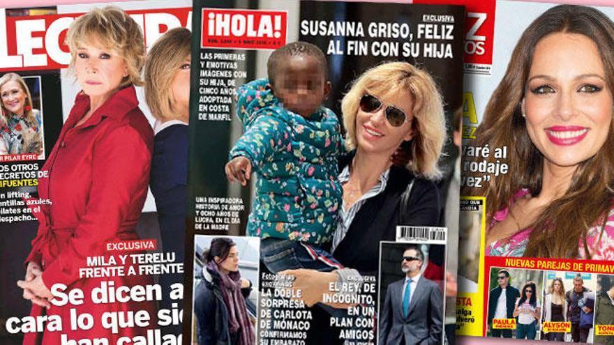 La familia numerosa de Susanna Griso