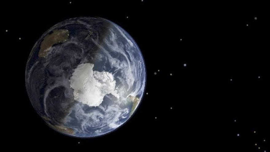 El agua pudo llegar a la Tierra dentro de meteoritos