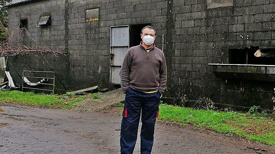"""Ganaderos urgen cambios en la parcelaria de San Vicenzo: """"Nos dejan encajonados"""""""