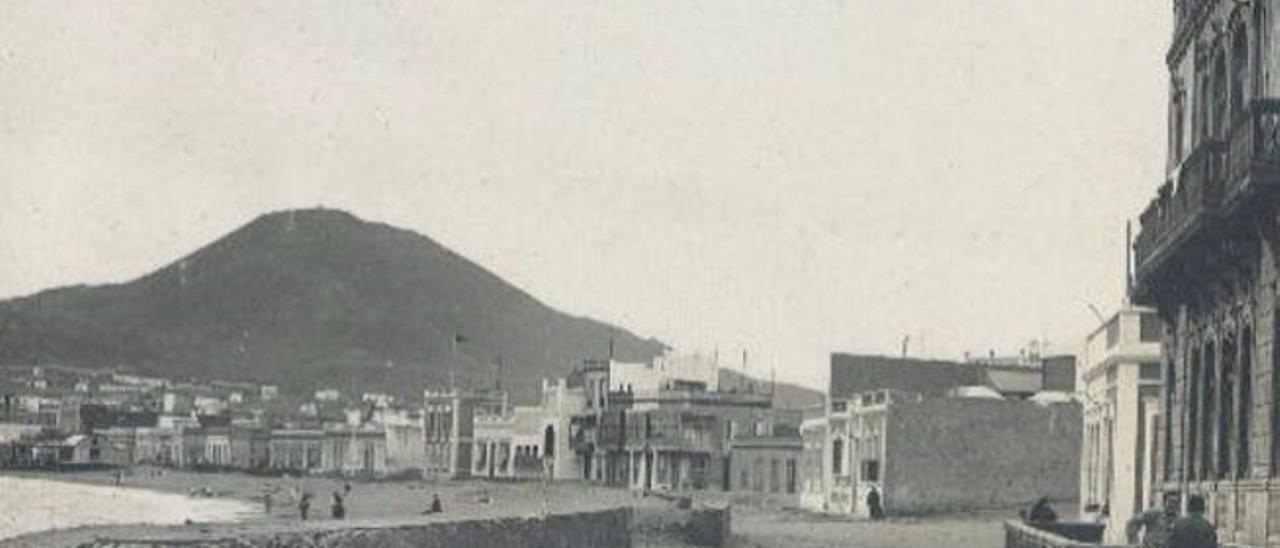 El primer hotel de Las Canteras