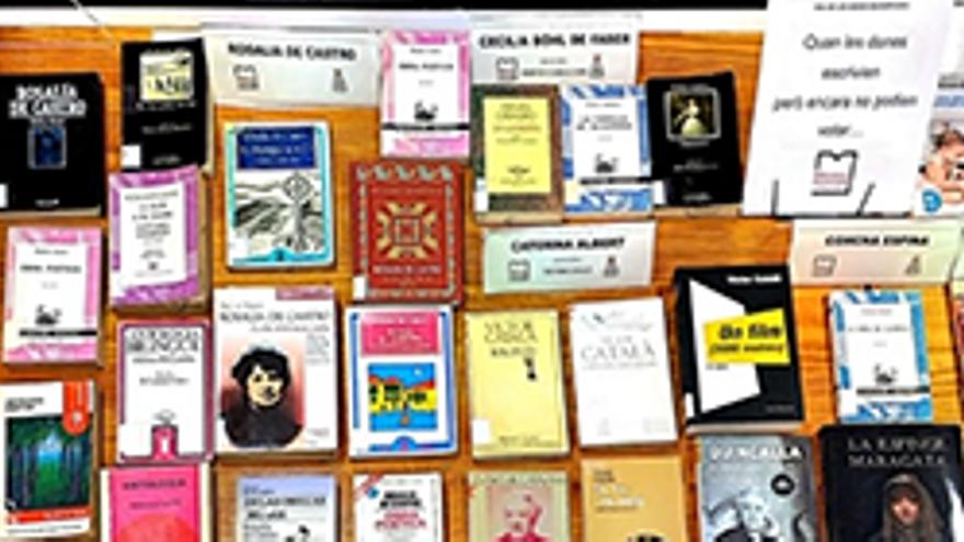 Exposició bibliogràfica 'Quan les dones escrivien però no podien votar'