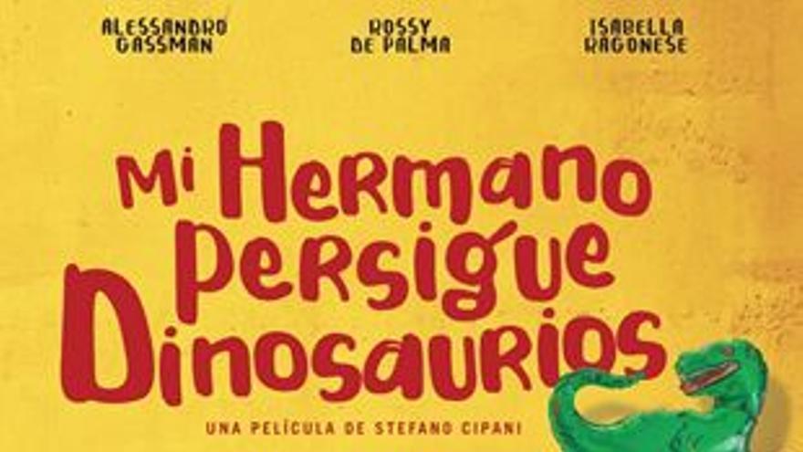 Cine de verano: Mi hermano persigue dinosaurios