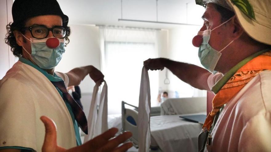 L'humor dels Pallapupas redueix un 52% la sensació de por en pacients pediàtrics