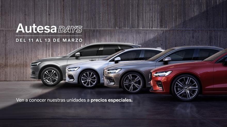 Vuelven los Autesa Days con magníficos descuentos en todos los modelos de Volvo