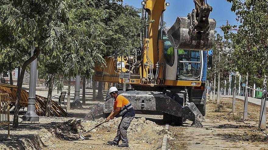 Elche fía a la subasta de suelo y a un préstamo el 40% de inversión en 2021