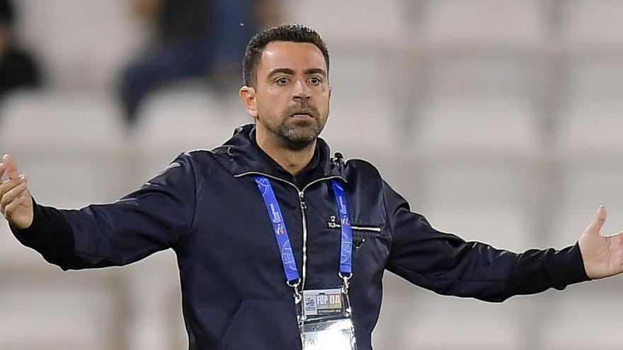 """Xavi: """"Me veo capacitado para entrenar al Barça"""""""