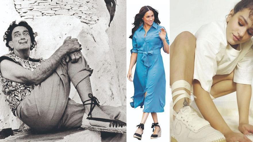 De Dalí a Rosalía: la espardenya más sexy