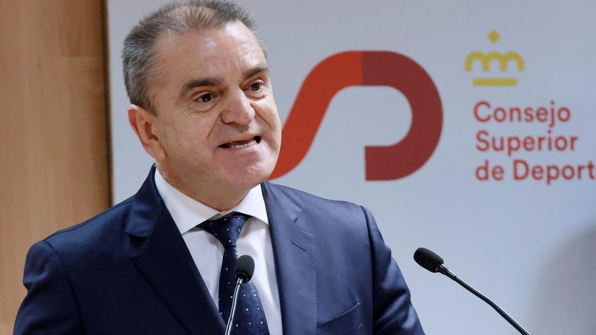 El presidente del CSD, José Manuel Franco.