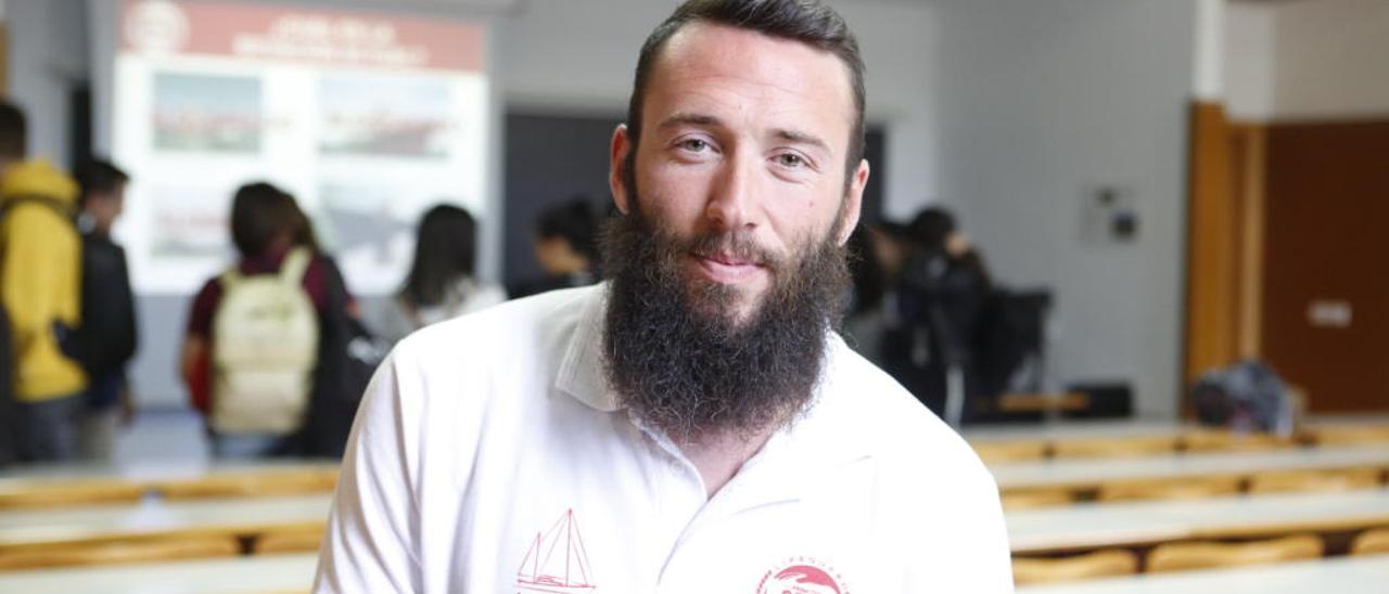 Joaquín Acedo en la Universidad de Alicante