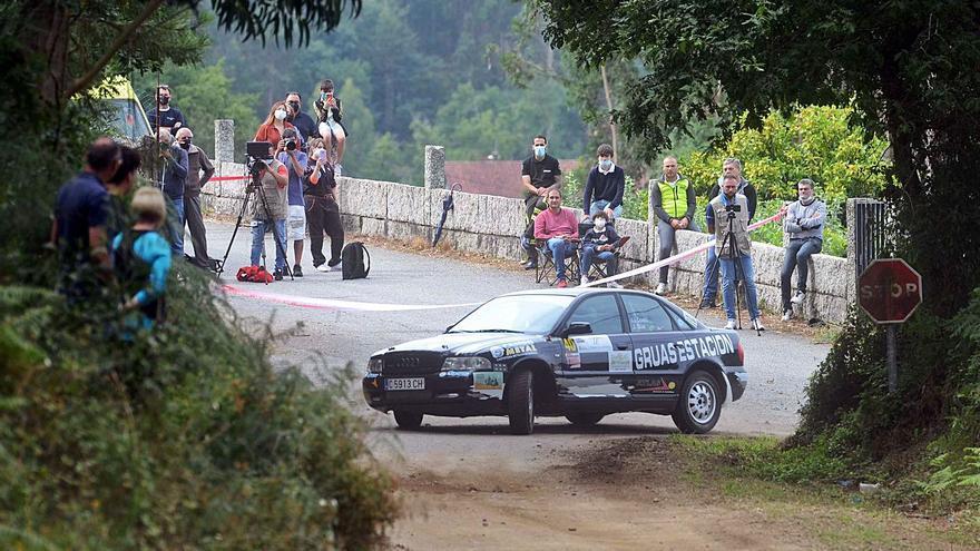 Ocho segundos otorgan el Rallymix al pontevedrés Alexis Viéitez