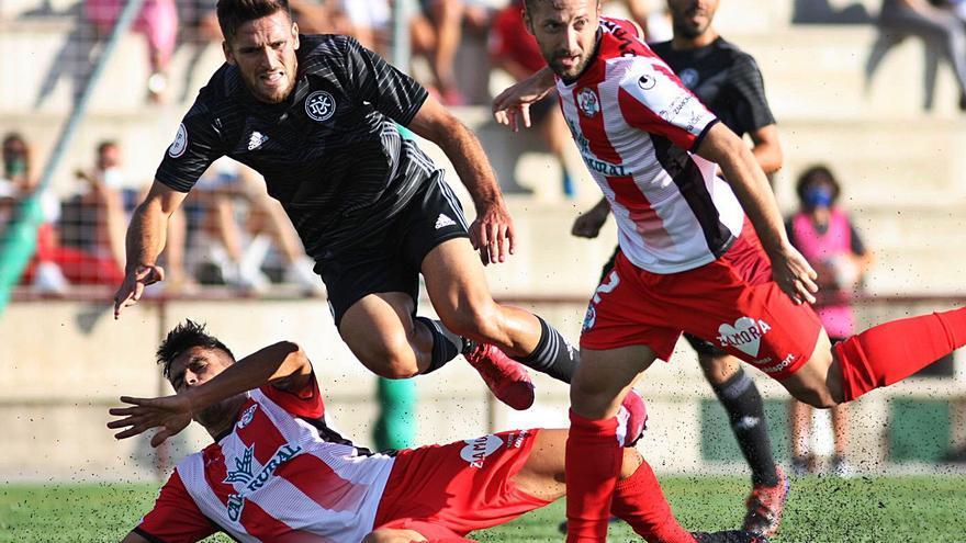 El Zamora CF sale de los puestos de descenso