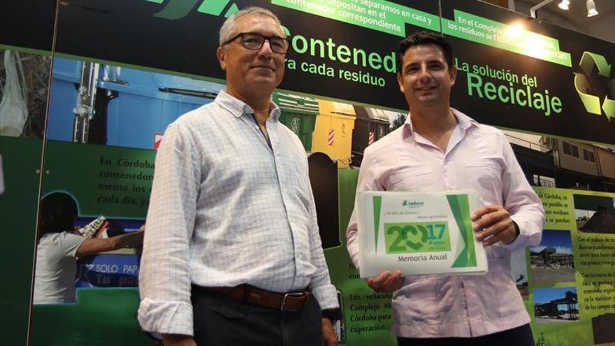 Sadeco eleva la recogida de residuos en un 5% y su cifra de negocio en un 2,3%