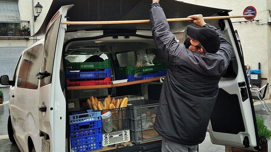 Bocinazo y a por el pan de cada día en la Vall d'Alcalà