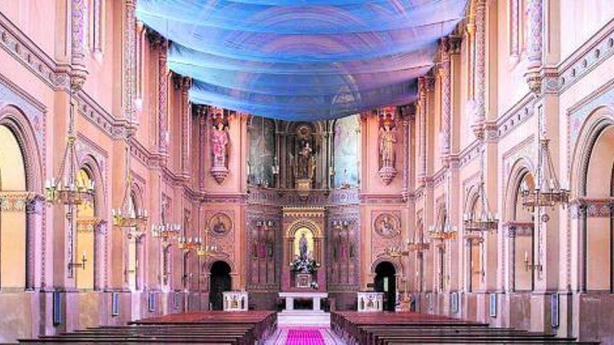 Rescate al límite de la iglesia de los Jesuitas