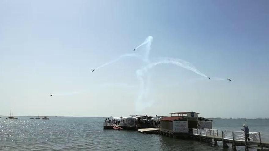 Todos los vídeos de la Exhibición Aérea por el 75 aniversario de la AGA en San Javier