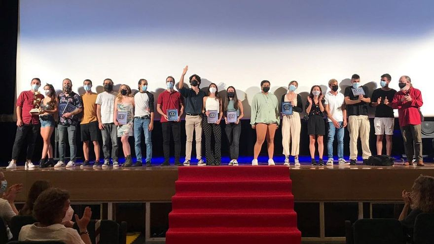 'Pinza buena, pinza mala', el cortometraje que se ha llevado la Espiral Dorada en l'Eliana Cinema
