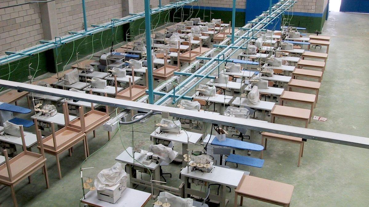 Imagen de archivo de un taller en una prisión.