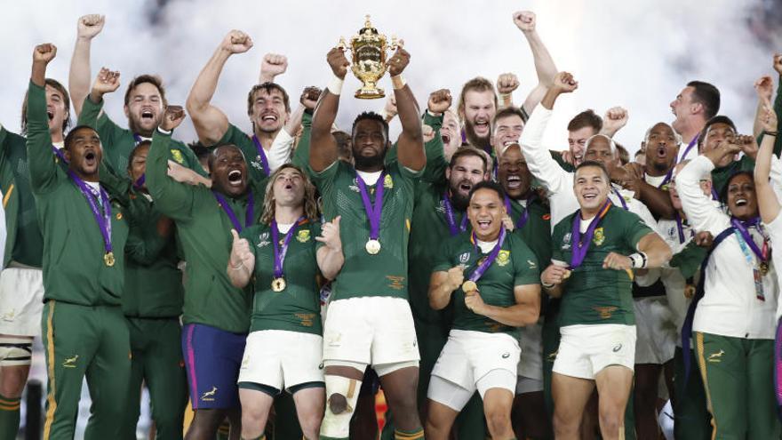 Sudáfrica, campeona del Mundial de rugby