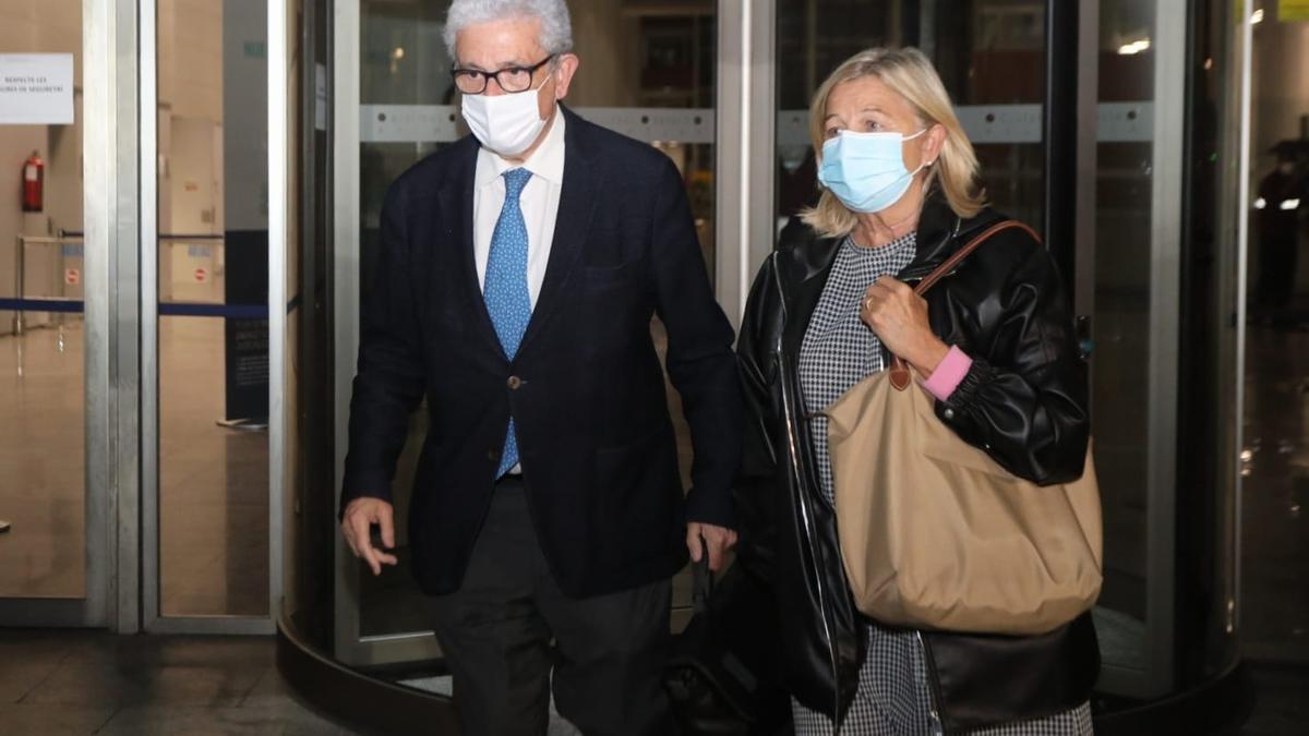 Javier Boix, defensa de Maje sale de la Ciudad de la Justicia tras la lectura del veredicto