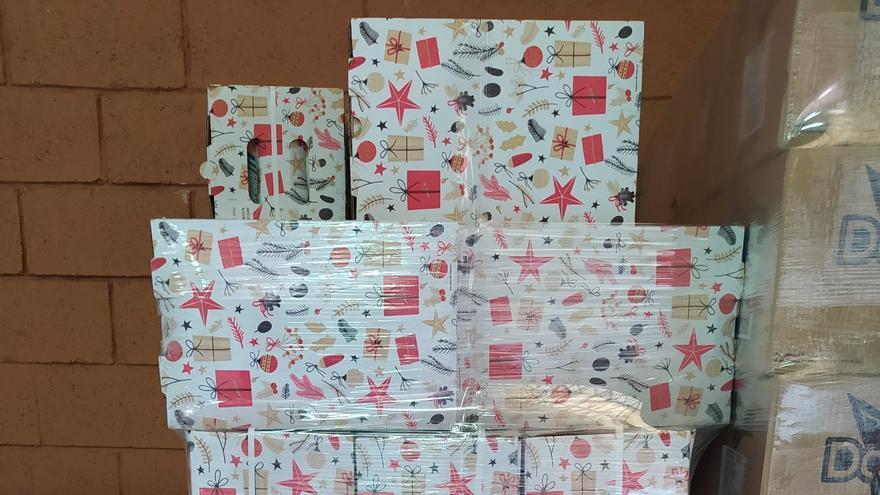 La Diputación dona 250 lotes de alimentos para repartir entre las familias más desfavorecidas