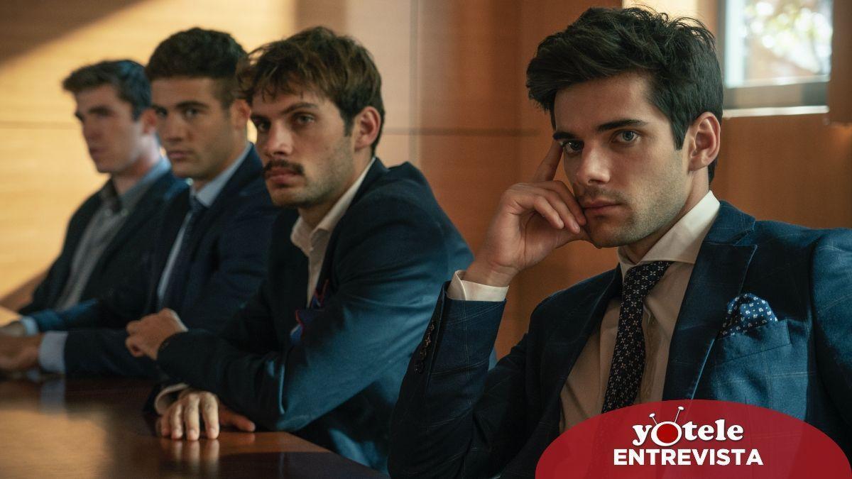 Álvaro Rico, Pol Hermoso and Jason Fernández in a scene from 'Alba'.