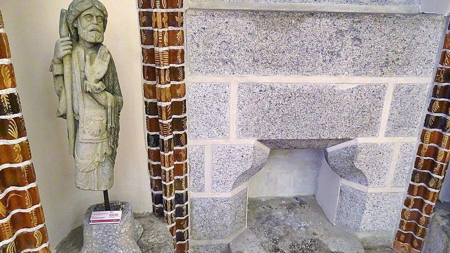 """El Santiago Peregrino de Santa Marta de Tera, """"pieza del mes"""" en Astorga"""
