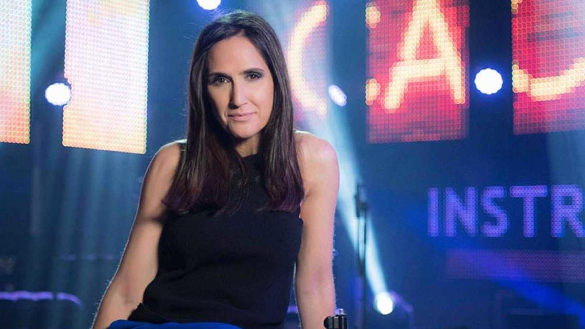 Virginia Díaz, presentadora de 'Cachitos'.