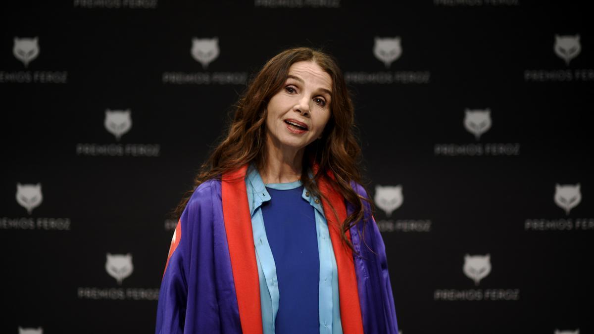 Victoria Abril.