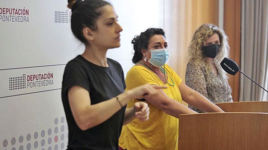 La Diputación y XOGA defienden la oficialidad de la Lingua de Signos Galega