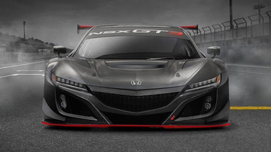 Honda presentará el NSX GT3 Evo en Bruselas