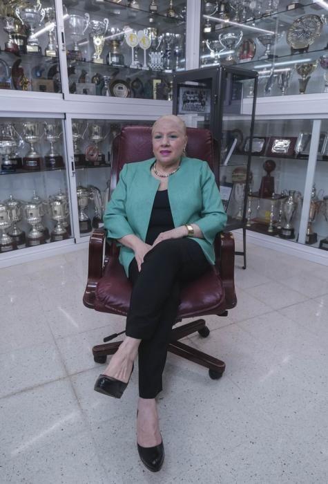 Begoña Santana, premio Roque Nublo de Deportes del Cabildo.