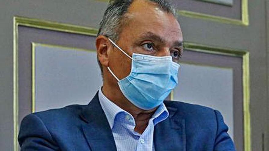 Salvador Navarro optará a la reelección como presidente de la patronal