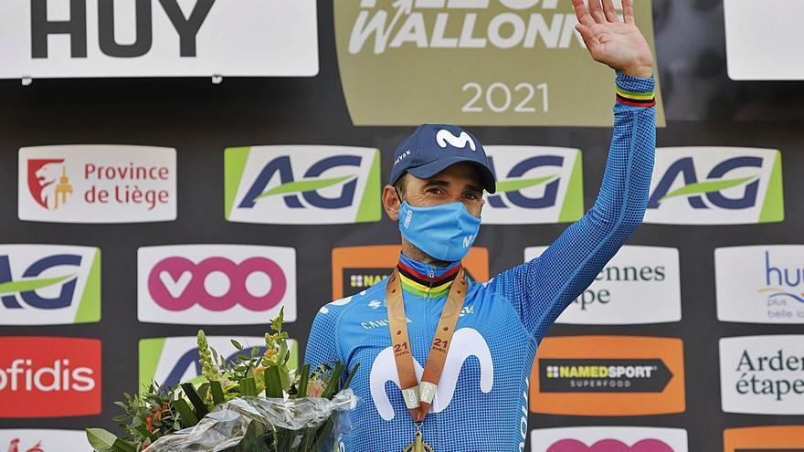 Alejandro Valverde piensa en retrasar su retirada y seguir en activo en 2022