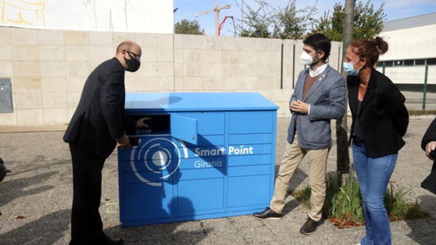 El model de paqueteria intel·ligent de Girona té una recollida mitjana de 12 comandes per usuari