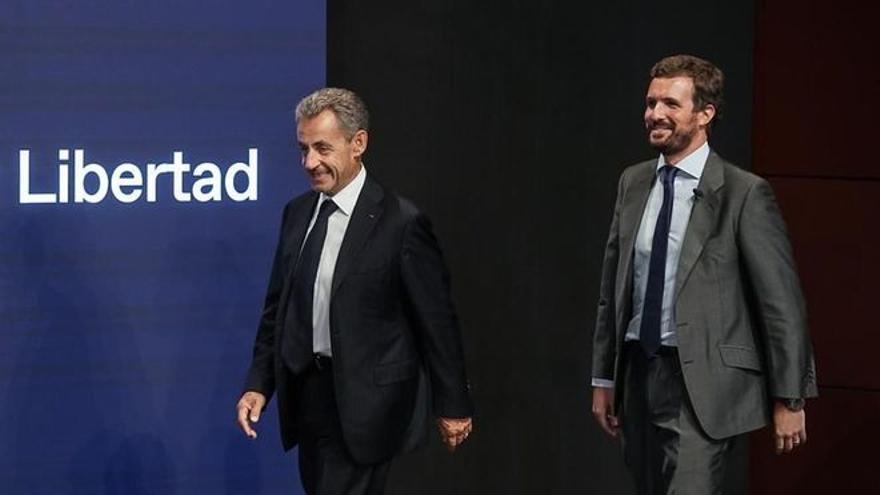 Un año de prisión para Sarkozy por financiación ilegal