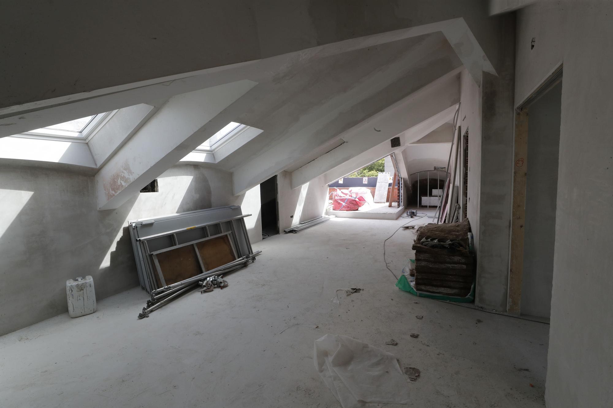 Así van las obras de la nueve sede de la Zona Franca en Areal