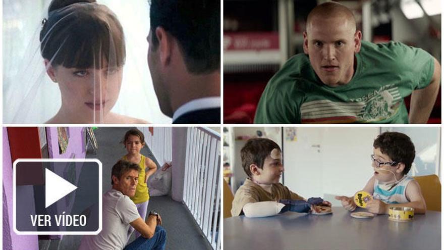 Los estrenos de la semana: Christian Grey y Anastasia  vuelven a la salas de cine