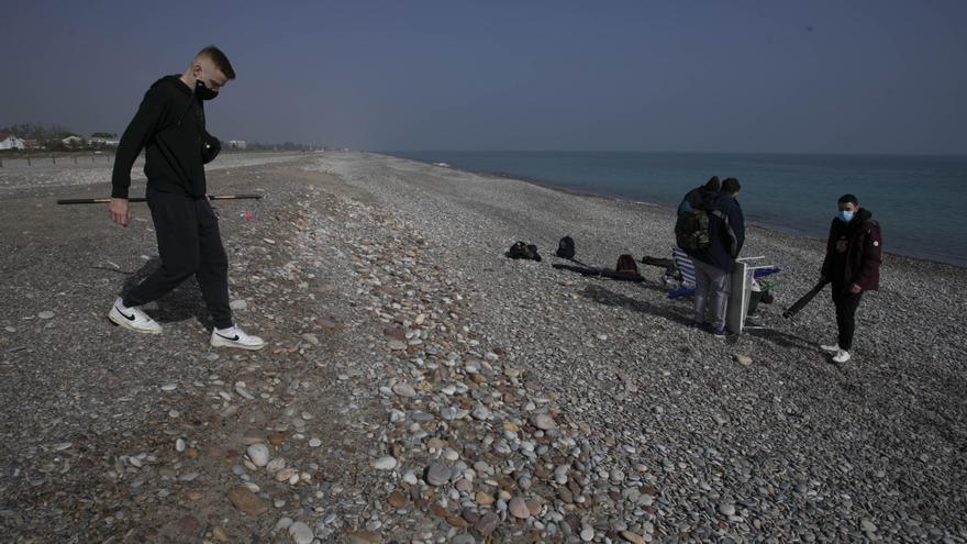 Costas contempla extraer arena de la playa de Canet para regenerar la de Sagunt