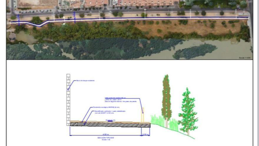 Sadeco avanza en la ampliación de las márgenes del rio para facilitar su limpieza