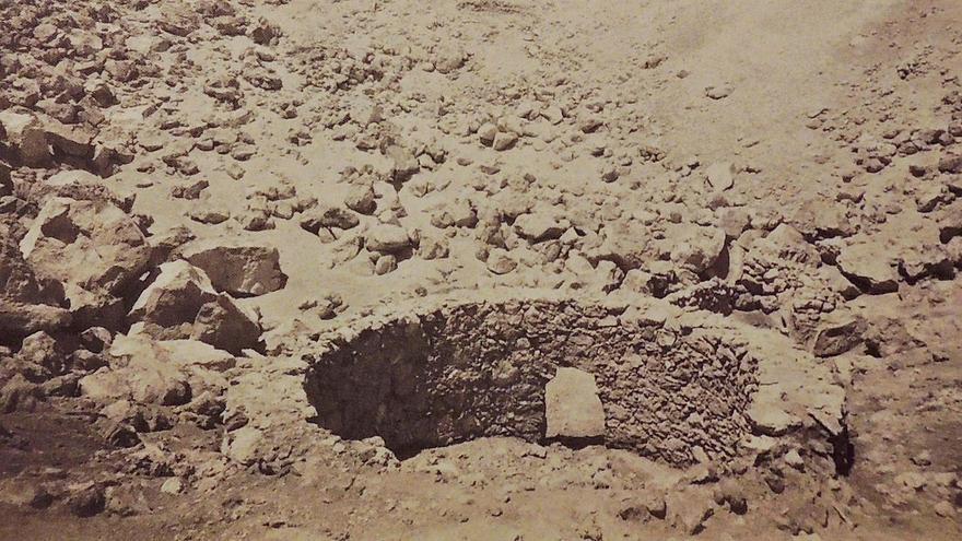 Dos hornos en el cráter del Teide