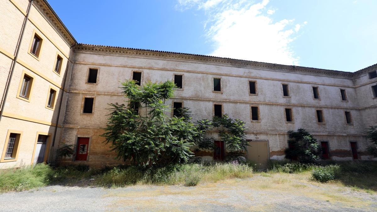 Antiguo cuartel de Pontoneros que se convertirá en una residencia de estudiantes.