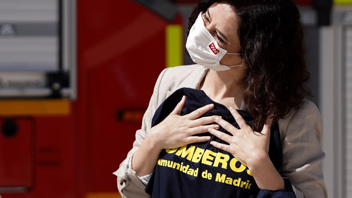 La presidenta de la Comunidad de Madrid, Isabel Díaz Ayuso.