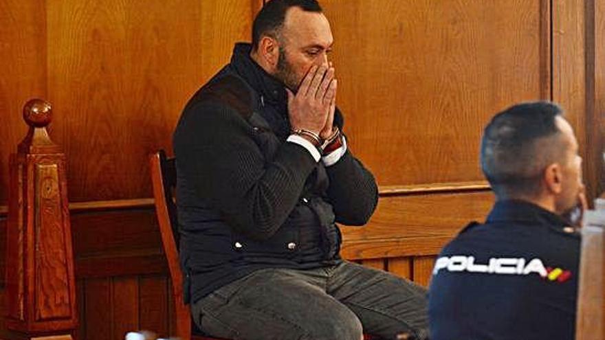 """El acusado del crimen de Ponte Caldelas, en su última palabra: """"No me ensañé con él"""""""