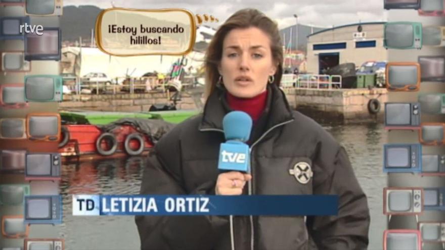 """Letizia, una carrera televisiva que iba """"como un pepino"""""""